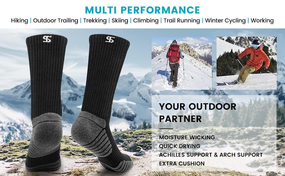 mens socks hiking socks outdoor socks climbing socks