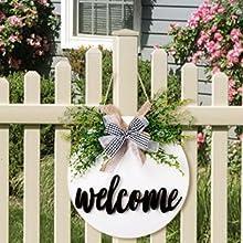 yard door sign
