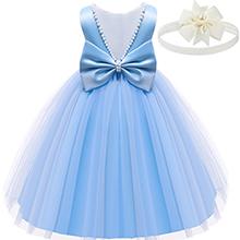 baby girl blue dress
