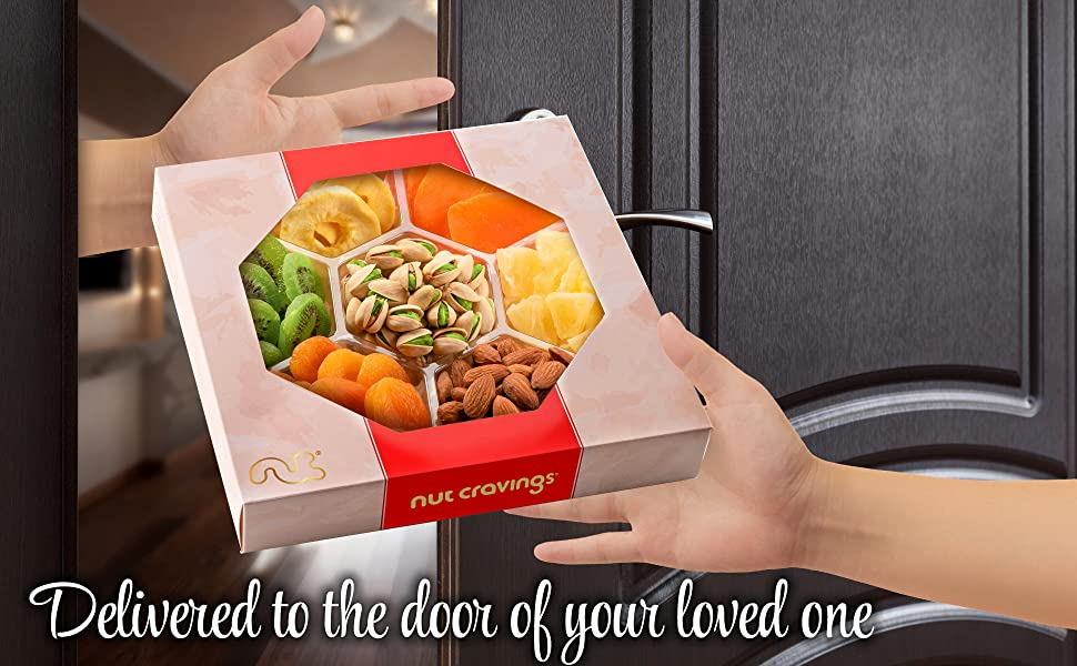 Delivered right to your loved ones door