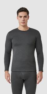 Men Thermal Underwear Set Long Sleeve Shirt M26