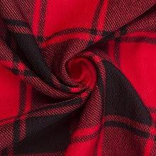 Red Buffalo Plaid Mini Dress