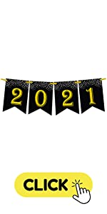 2021 Black and Gold Banner