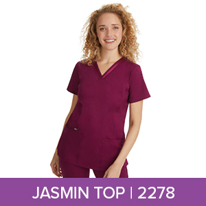 Healing Hands 2278 Jasmin Scrub Top