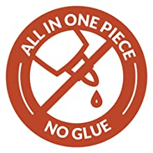 All one piece no glue