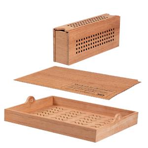 Premium cedar designed with exquisite craftsmanship