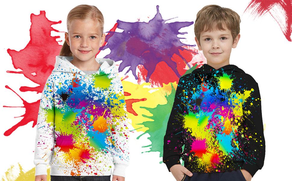 3d boys girs sweatshirt graphic print hoodie