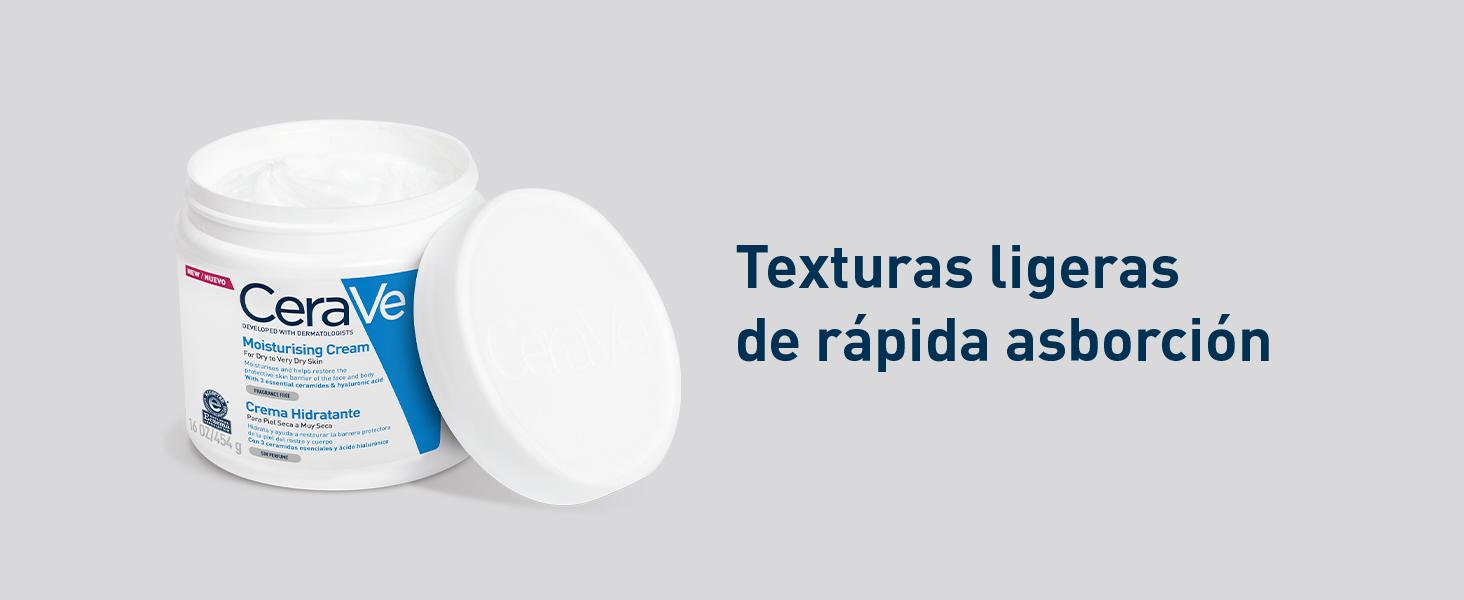 Textura CeraVe crema hidratante 454g