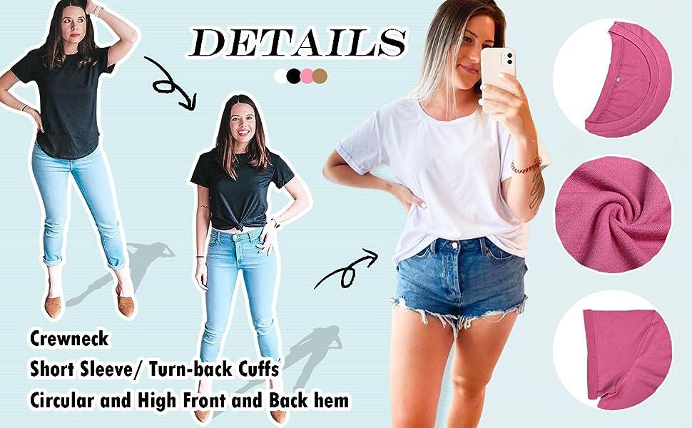 womens summer t shirts