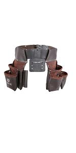 Adjustable Leather Tool Belt