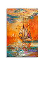 Sailboat Canvas Wall Art