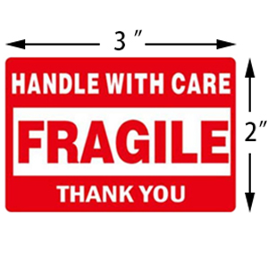 Fragile Tape for Packing and Shipping
