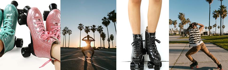 roller skate beaut hot