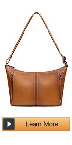 Leather Shoulder Handbag