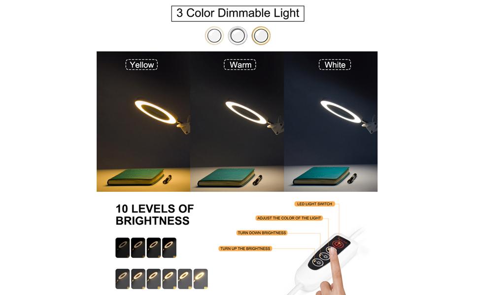 3 Colors Modes