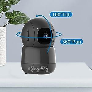 360 rotation camera