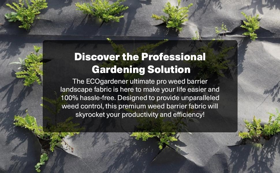 weed barrier landscape fabric heavy duty ground cover weed fabric garden fabric landscaping fabric
