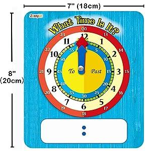 Play clock for 5 years old/6 years old/ 7 years old/ 8 years old kids