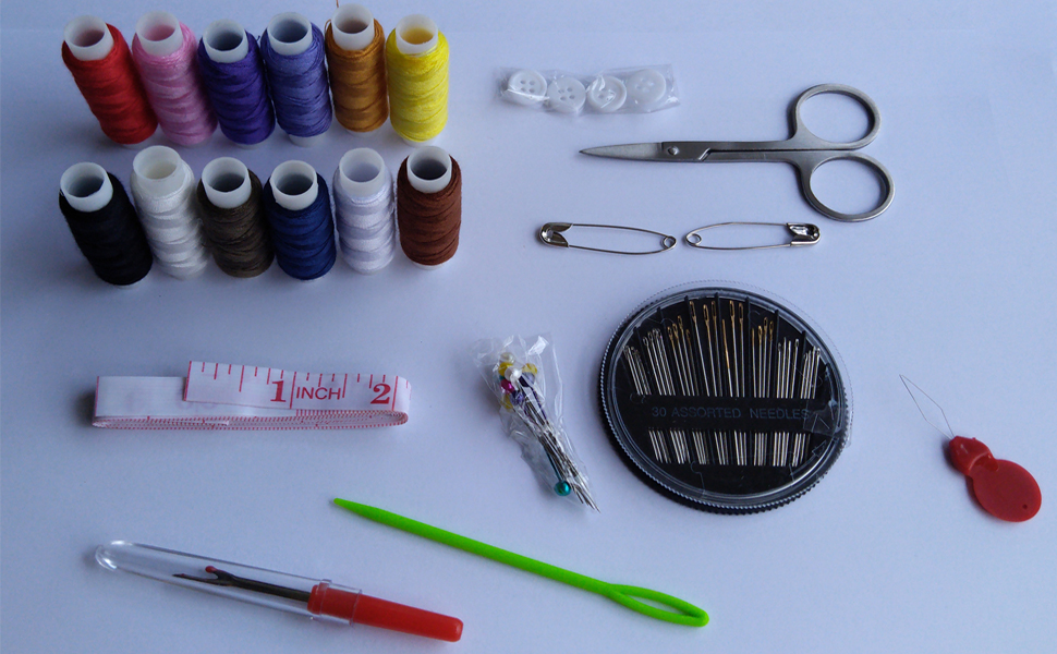 Sewing Kit,Sewing Supplies,Sewing Thread,Sewing Needles,Sewing Accessories
