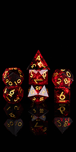 Resin sharp dice