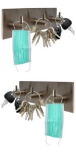 Self adhesive wall mounter hanger