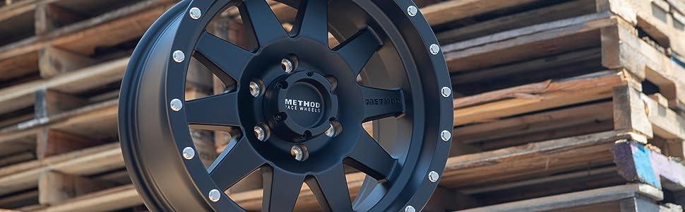 Method Race Wheels 301 in Matte Black