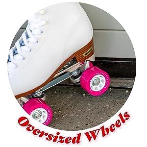 Oversized Wheels