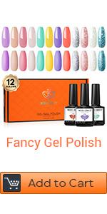 yellow gel nail polish