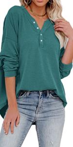 Womens V Neck Sweatshirts