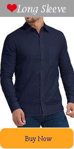 Men's Long Sleeve Button Down Shirts