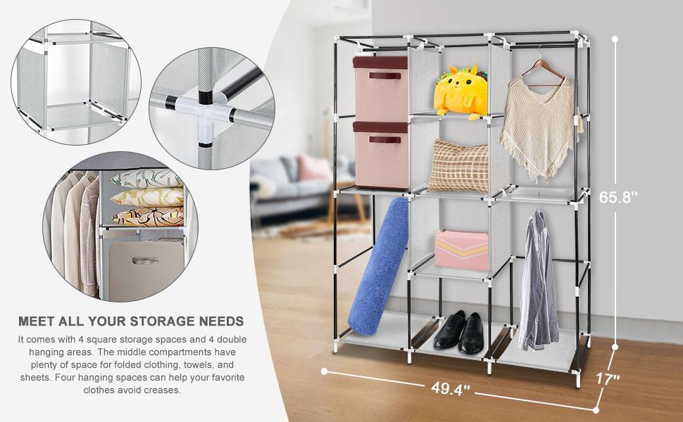 storage needs clothes