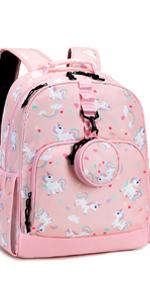 Choco Mohca 17inch Unicorn Backpack Set