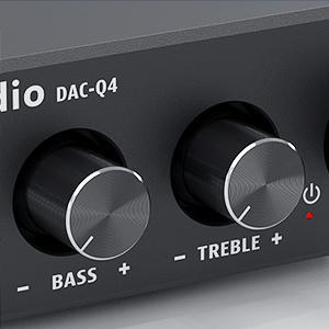 Fosi Audio Headphone Amplifer DAC-Q4