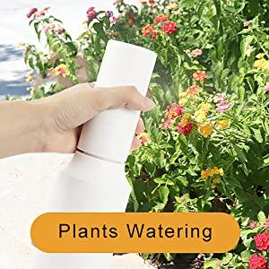 Electric Garden Plant Mist Spray Bottle Battery Powered