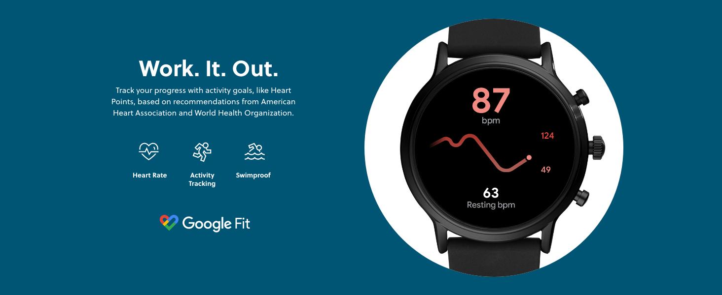 Gen 5 Smartwatch - Work It Out