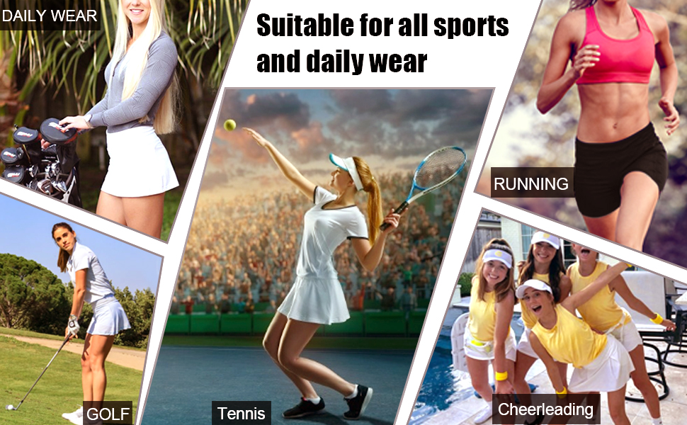 Suitable for all sports and daily wear