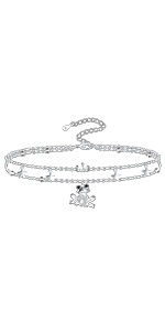 frog anklet jewelry