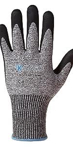 KAYGO cut resistant work gloves KG21NB