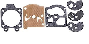 2 Pack K10-WAT Carburetor Repair Kit for Walbro Carb Poulan Craftsman Chainsaw