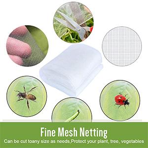 Filet Anti-Insectes pour Plantes