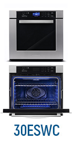 Cosmo, 30ESWC, Electric Wall Oven, Electric Oven, European Convection