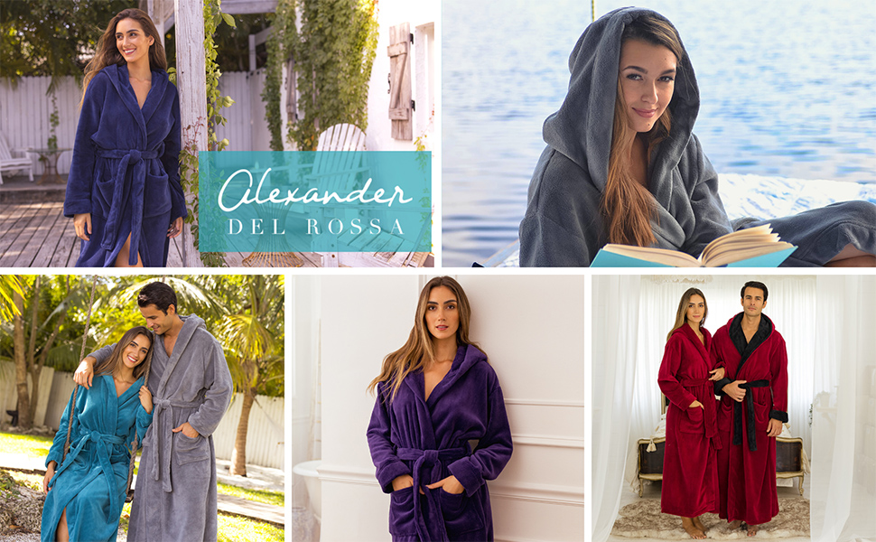 comfortable womens robe for every day use