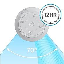 ventilateur tour colonne 117 cm pro breeze ete frais fraicheur clim ventilo blanc