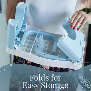 Folds for Easy Storage