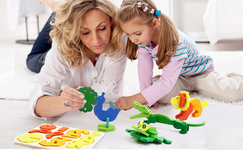 Playing jigsaw puzzles can help your kids many skills