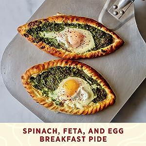 Spinach, Feta, and Edd Breakfast
