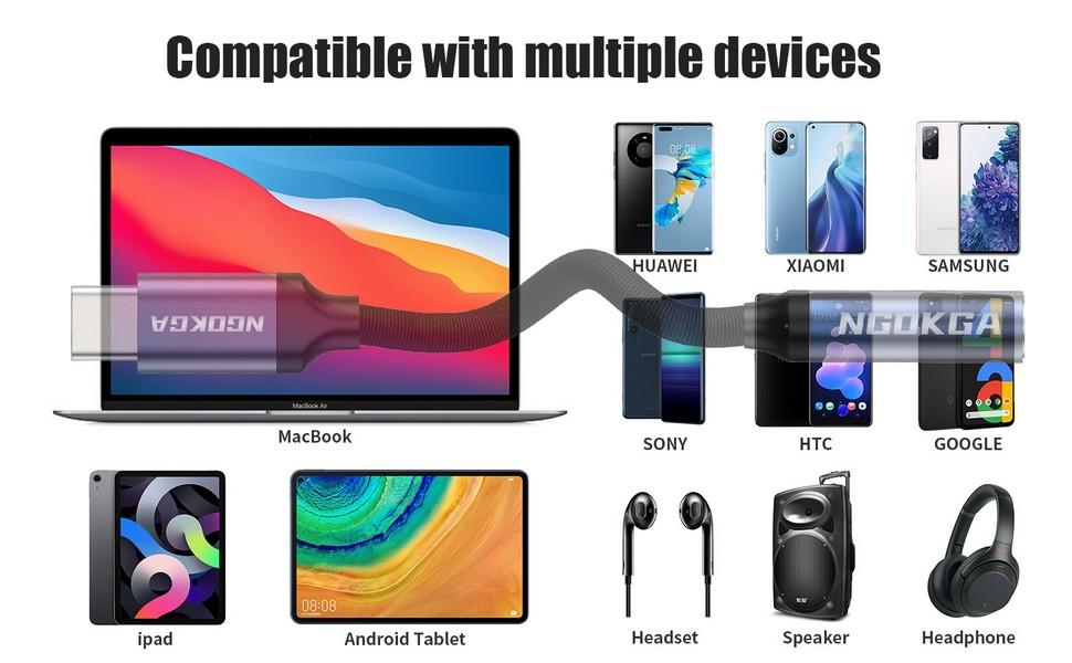 USB C to 3.5mm