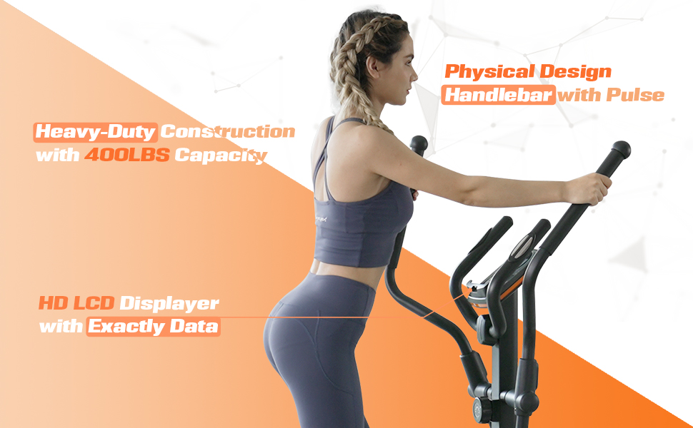elliptical trainer with 400 LBS weight limit