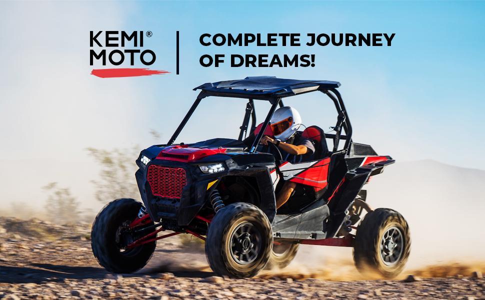 B0901-01901BK kemimoto RZR XP 1000 SPORTMAN 570 ACE CLUTCH COVER