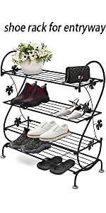 shoe rack for entryway